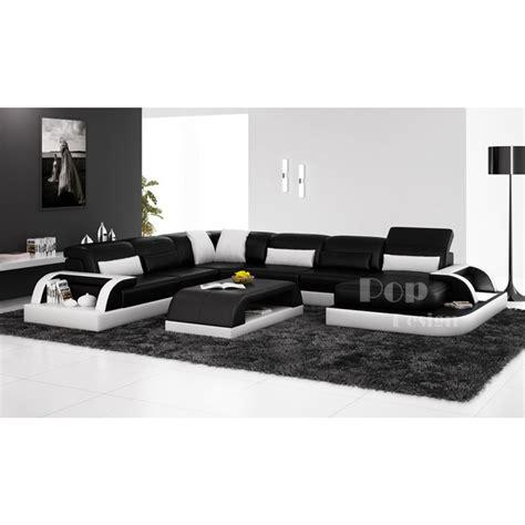 canape de luxe cuir canapé d 39 angle panoramique design en cuir véritable bolzano xl