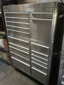 "41"" CSPS/HammerHead Stainless Steel Tool Box (2 Pieces"