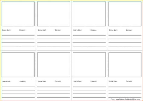 storyboard templates teknoswitch