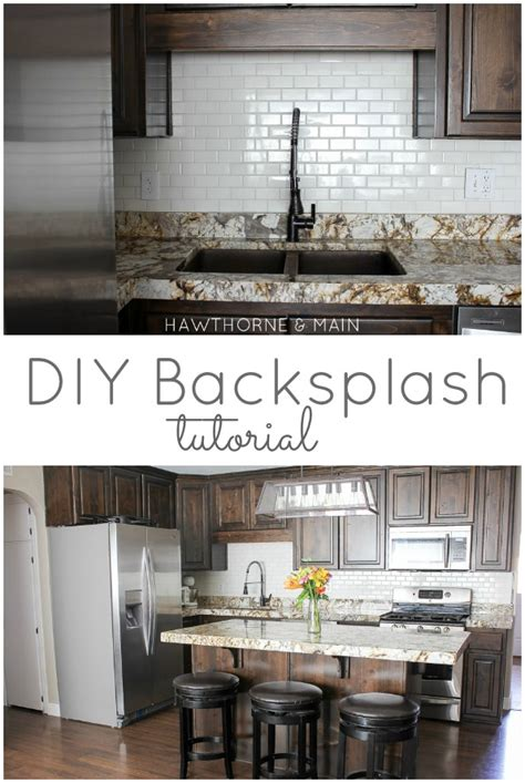 how to do kitchen backsplash hawthorne and diy kitchen backsplash