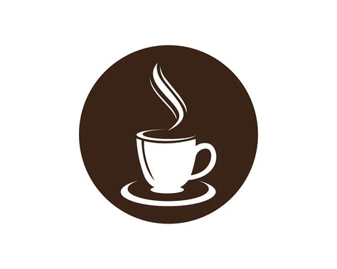 The best cup mockup to showcase logo design or typography on the face of coffee cup. Coffee cup Logo Template vector icon design - Download ...