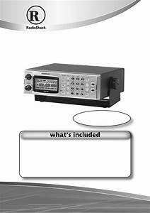 Radio Shack Scanner Pro-433 User U0026 39 S Manual