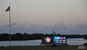 NASA Premiers New Countdown Clock for Orion's First Launch