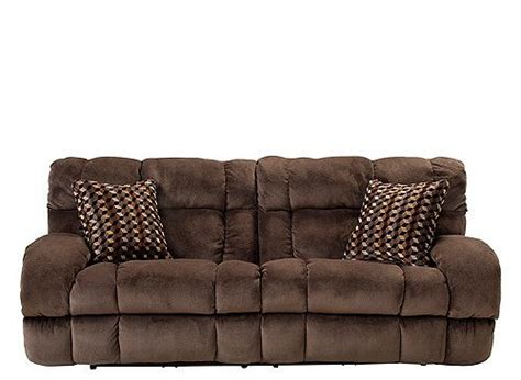 skye microfiber power reclining sofa casual and family friendly the bromley microfiber power