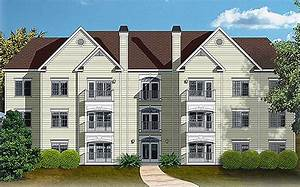 12 Unit Apartment Building Plan - 83120dc