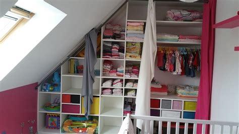 dressing chambre enfant dressing chambre enfant mansarde et deco par clem7135 sur