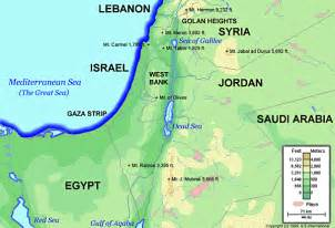 Israel Map as of Today