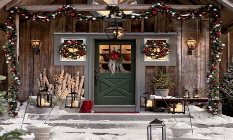 Best Outdoor Lanterns, Front Porch Christmas Decorating