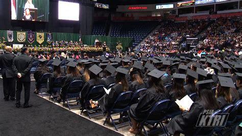 south texas college graduation youtube