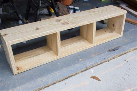 diy storage bench diy aztec patterned storage bench behrbox challenge