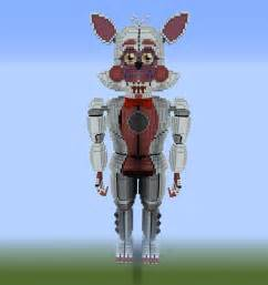Fun Time Foxy Sister Minecraft Skin Location