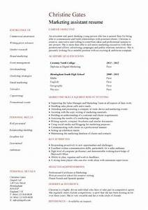 graduate cv template student jobs graduate jobs career With cv template for marketing job