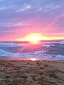 Simple Beach Sunset Paintings