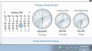 How To Set A Computer U0026 39 S Date And Time