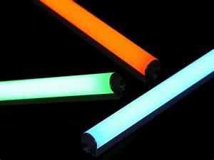 Led Lichtleiste Farbwechsel : rgb led lichtleiste 92cm tolle farbwechsel effekte durch runde abdeckung einfache montage ~ Eleganceandgraceweddings.com Haus und Dekorationen