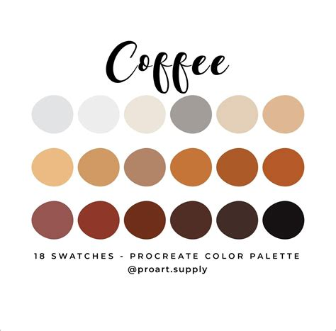 If you are looking for colour schemes with particular color codes, simply enter those. COFFEE PROCREATE COLOR Palette Brown Orange Tan Beige & | Etsy | Red colour palette, Orange ...