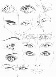 Human Face Drawing Reference Guide