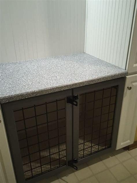 built  dog crate pinteres
