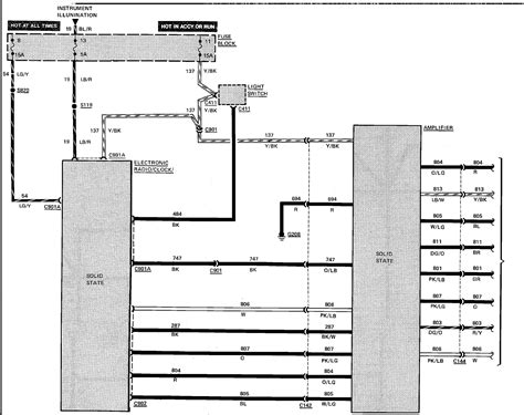 Wiring Diagram 1984 Ford E 150 by What Wires Do I Hook Up To My New Radio 1988 Econoline