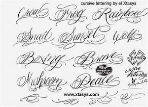 Fancy Handwriting Tattoos | Hand Writing