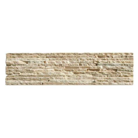 Solistone Tile Home Depot by Solistone Portico Slate Baia 6 In X 23 1 2 In X 19 05 Mm