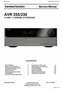 Download Harman Kardon Avr 255 230 Service Manual
