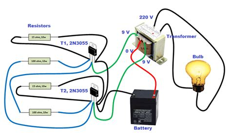 How Make Simple Inverter Home Circuit Step