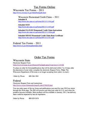 wisconsin homestead credit form  fill