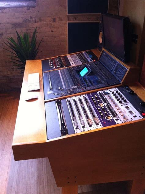 custom recording studio desk a custom handcrafted recording studio workstation for a