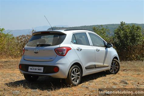 Review Hyundai Grand I10 by 2017 Hyundai Grand I10 1 2 Diesel Facelift Rear Quarter