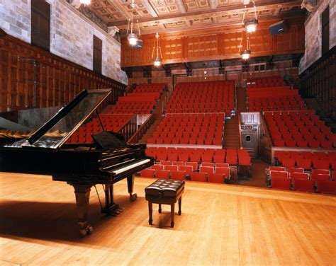 Gain a full honours degree in music & sound and consolidate your practice. Kilbourn Hall - Eastman School of Music