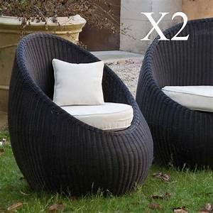 Fauteuil Jardin Pas Cher : fauteuil en resine tressee pas cher table de lit a roulettes ~ Teatrodelosmanantiales.com Idées de Décoration