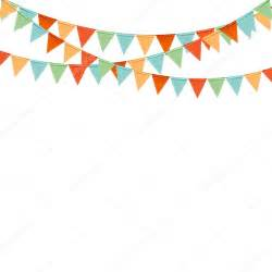 Triangle Party Flag Banner Clip Art