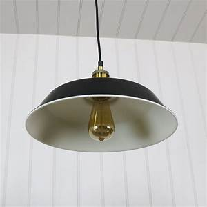 Industrial, Style, Black, Metal, Pendant, Ceiling, Light