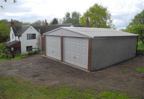 Double Garage : Double Concrete Garages