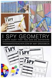 I Spy Geometry In The Real World Freebie In 2020