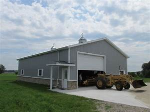 pole building door types and uses milmar pole buildings With amish pole barn builders indiana