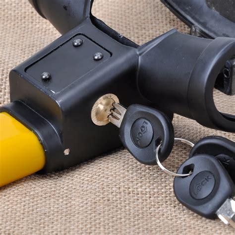 Universal Steel Alloy Car Steering Wheel T Type Anti-theft