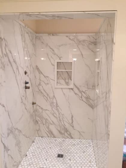 Shower: Neolith Calacatta   Marble Trend   Marble, Granite