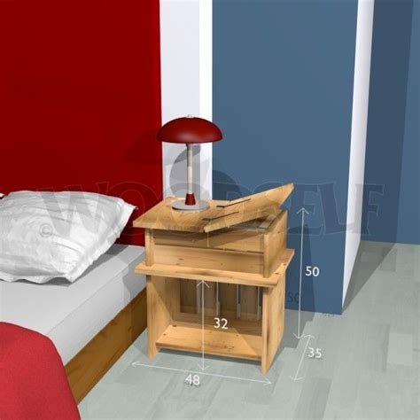 nightstand woodworking plan night stand  bedside