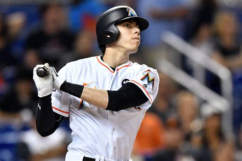 Miami Marlins Outfielder Christian Yelich Looking To Keep