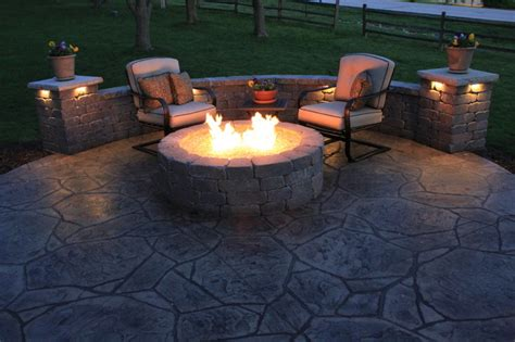 lakewood contemporary patio kansas city by concrete concepts llc