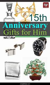 15th wedding anniversary gift ideas for men vivid39s gift With fifteenth wedding anniversary gifts