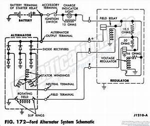 1970 Ford Truck Alternator Wiring Diagram
