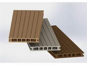 Lame De Terrasse Composite : lames de terrasses en bois composite contact plastil ~ Melissatoandfro.com Idées de Décoration
