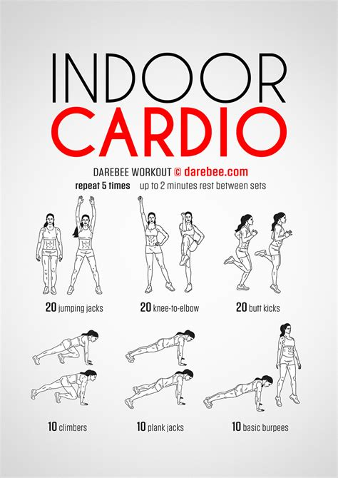 Bedroom Cardio Workout by Indoor Cardio Workout
