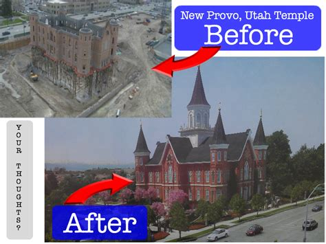 Picture The New Provo Utah Temple On Center Street
