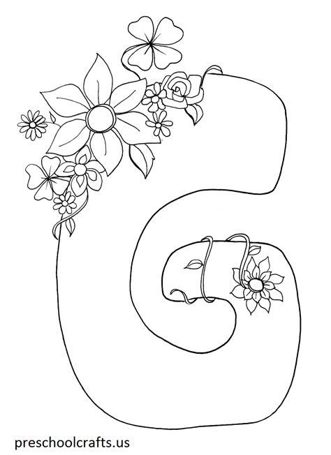 letter  coloring pages preschool  kindergarten