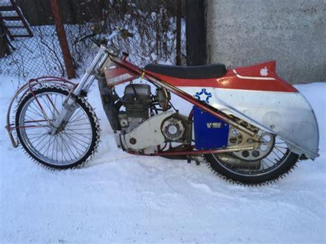 Jawa 892 Ice Speedway Upright Bike Motorcycle Eso 890
