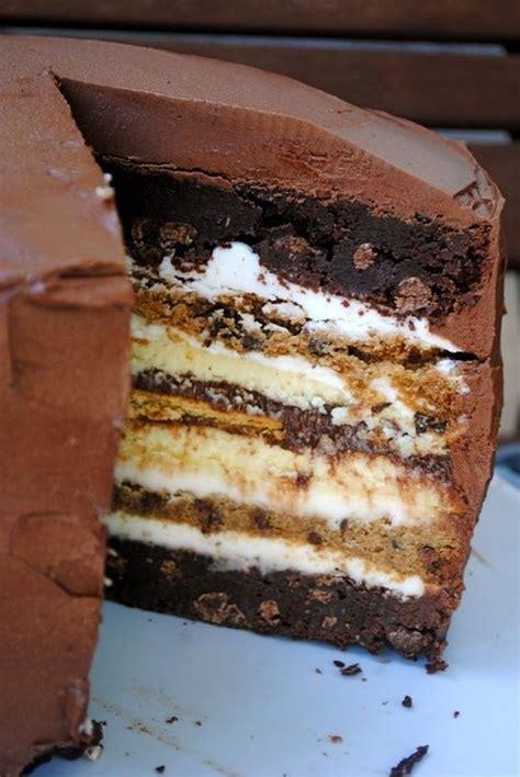 s more cake s mores cake chocolate treasures